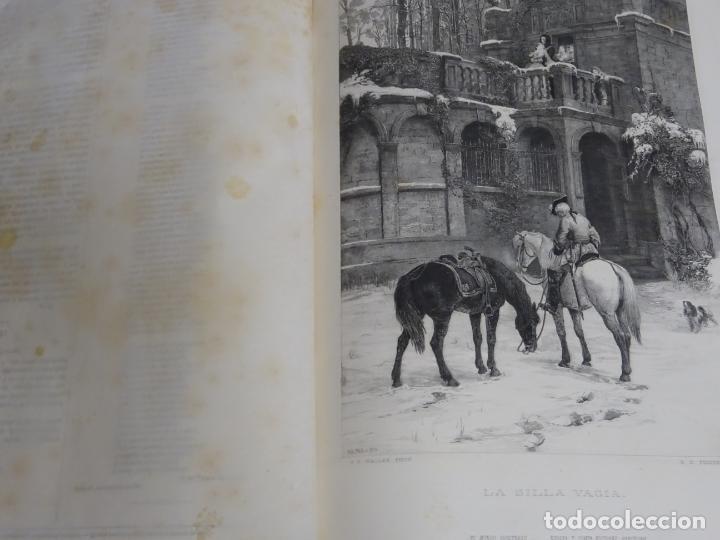 Enciclopedias antiguas: LIBRO TOMO ENCICLOPÉDICO SIGLO XIX AÑO 1879-81. EL MUNDO ILUSTRADO 5. ITALIA CONSTANTI 774PAG. 3,5KG - Foto 7 - 254990380