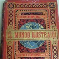 Enciclopedias antiguas: LIBRO TOMO ENCICLOPÉDICO SIGLO XIX AÑO 1879-81. EL MUNDO ILUSTRADO 5. ITALIA CONSTANTI 774PAG. 3,5KG. Lote 254990380