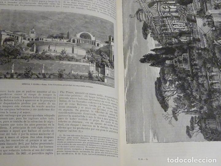 Enciclopedias antiguas: LIBRO TOMO ENCICLOPÉDICO SIGLO XIX AÑO 1880. EL MUNDO ILUSTRADO 4. GRECIA ROMA MAR 760PAG. 3,5KG - Foto 3 - 254991115