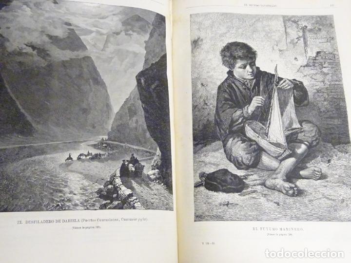 Enciclopedias antiguas: LIBRO TOMO ENCICLOPÉDICO SIGLO XIX AÑO 1880. EL MUNDO ILUSTRADO 3. GRECIA ROMA EGIPTO 768PAG. 3,5KG - Foto 2 - 254991810