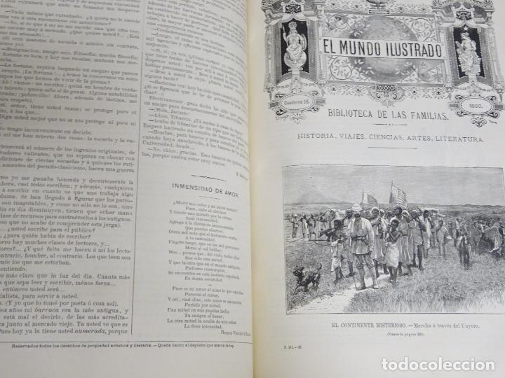 Enciclopedias antiguas: LIBRO TOMO ENCICLOPÉDICO SIGLO XIX AÑO 1880. EL MUNDO ILUSTRADO 3. GRECIA ROMA EGIPTO 768PAG. 3,5KG - Foto 6 - 254991810