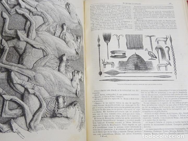 Enciclopedias antiguas: LIBRO TOMO ENCICLOPÉDICO SIGLO XIX AÑO 1880. EL MUNDO ILUSTRADO 3. GRECIA ROMA EGIPTO 768PAG. 3,5KG - Foto 10 - 254991810