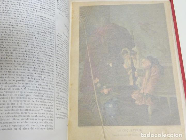 Enciclopedias antiguas: LIBRO TOMO ENCICLOPÉDICO SIGLO XIX AÑO 1880. EL MUNDO ILUSTRADO 3. GRECIA ROMA EGIPTO 768PAG. 3,5KG - Foto 11 - 254991810
