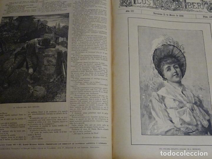 Enciclopedias antiguas: LIBRO TOMO ENCICLOPÉDICO SIGLO XIX AÑO 1885. ILUSTRACIÓN IBÉRICA. TOMO 3. 816P. 3,5KG - Foto 4 - 254992840