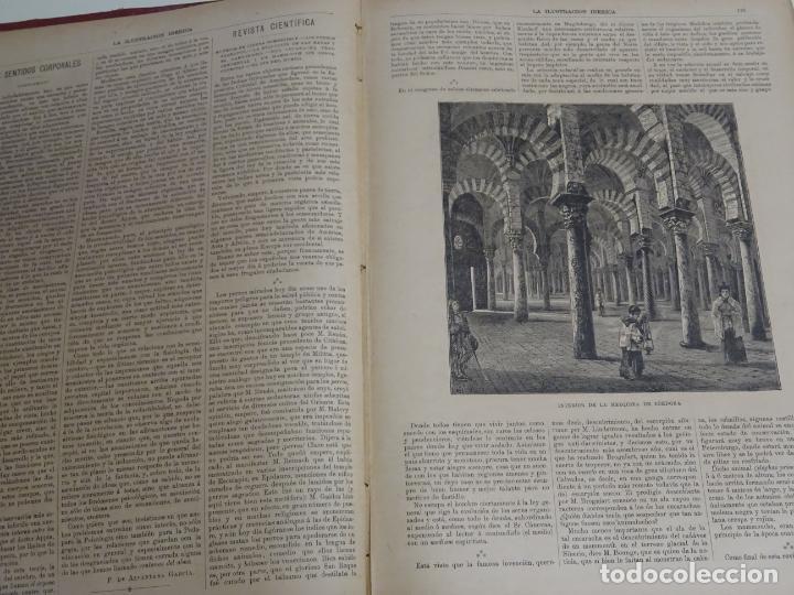 Enciclopedias antiguas: LIBRO TOMO ENCICLOPÉDICO SIGLO XIX AÑO 1885. ILUSTRACIÓN IBÉRICA. TOMO 3. 816P. 3,5KG - Foto 5 - 254992840