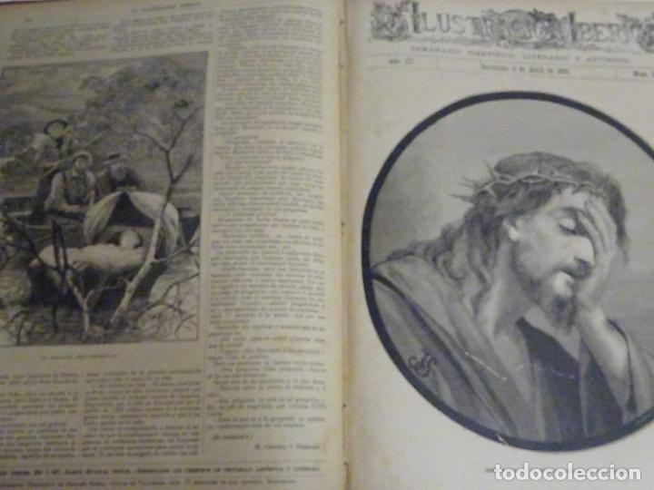 Enciclopedias antiguas: LIBRO TOMO ENCICLOPÉDICO SIGLO XIX AÑO 1885. ILUSTRACIÓN IBÉRICA. TOMO 3. 816P. 3,5KG - Foto 6 - 254992840