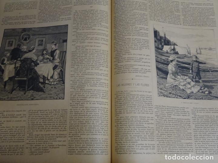 Enciclopedias antiguas: LIBRO TOMO ENCICLOPÉDICO SIGLO XIX AÑO 1885. ILUSTRACIÓN IBÉRICA. TOMO 3. 816P. 3,5KG - Foto 7 - 254992840