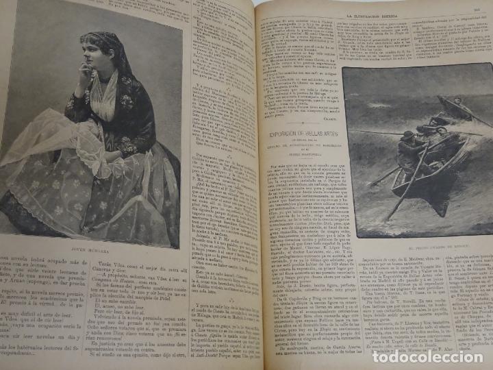 Enciclopedias antiguas: LIBRO TOMO ENCICLOPÉDICO SIGLO XIX AÑO 1885. ILUSTRACIÓN IBÉRICA. TOMO 3. 816P. 3,5KG - Foto 8 - 254992840
