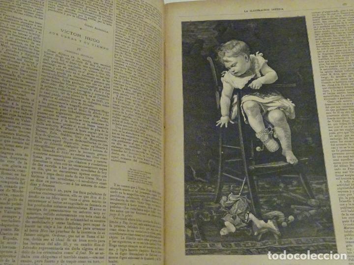 Enciclopedias antiguas: LIBRO TOMO ENCICLOPÉDICO SIGLO XIX AÑO 1885. ILUSTRACIÓN IBÉRICA. TOMO 3. 816P. 3,5KG - Foto 10 - 254992840