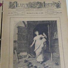 Enciclopedias antiguas: LIBRO TOMO ENCICLOPÉDICO SIGLO XIX AÑO 1885. ILUSTRACIÓN IBÉRICA. TOMO 3. 816P. 3,5KG. Lote 254992840