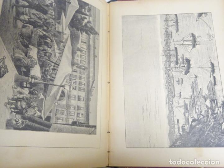 Enciclopedias antiguas: LIBRO TOMO ENCICLOPÉDICO SIGLO XIX AÑO 1884. ILUSTRACIÓN IBÉRICA. TOMO 2. 832P. 3,5KG - Foto 4 - 254993525