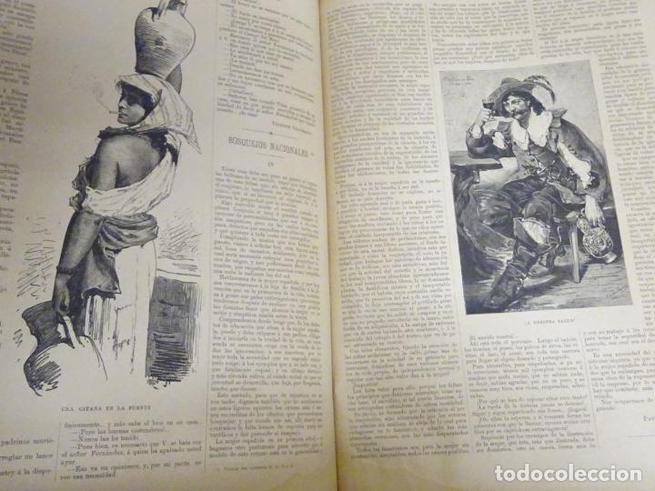 Enciclopedias antiguas: LIBRO TOMO ENCICLOPÉDICO SIGLO XIX AÑO 1884. ILUSTRACIÓN IBÉRICA. TOMO 2. 832P. 3,5KG - Foto 6 - 254993525