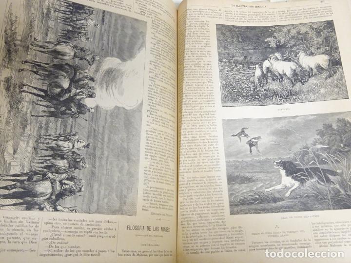 Enciclopedias antiguas: LIBRO TOMO ENCICLOPÉDICO SIGLO XIX AÑO 1884. ILUSTRACIÓN IBÉRICA. TOMO 2. 832P. 3,5KG - Foto 7 - 254993525