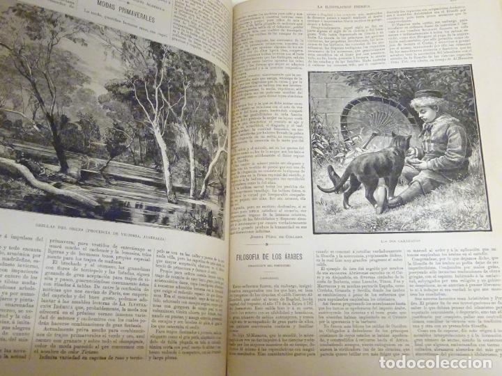 Enciclopedias antiguas: LIBRO TOMO ENCICLOPÉDICO SIGLO XIX AÑO 1884. ILUSTRACIÓN IBÉRICA. TOMO 2. 832P. 3,5KG - Foto 8 - 254993525
