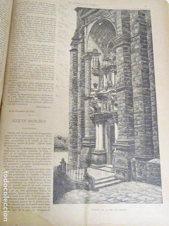 Enciclopedias antiguas: LIBRO TOMO ENCICLOPÉDICO SIGLO XIX AÑO 1884. ILUSTRACIÓN IBÉRICA. TOMO 2. 832P. 3,5KG - Foto 11 - 254993525