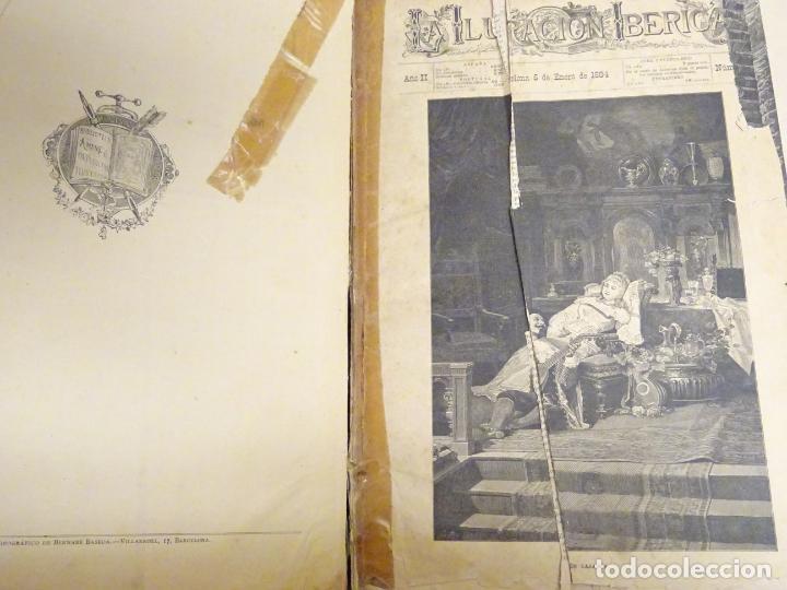 Enciclopedias antiguas: LIBRO TOMO ENCICLOPÉDICO SIGLO XIX AÑO 1884. ILUSTRACIÓN IBÉRICA. TOMO 2. 832P. 3,5KG - Foto 12 - 254993525