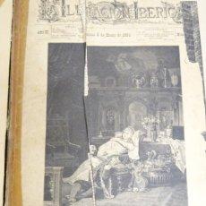 Enciclopedias antiguas: LIBRO TOMO ENCICLOPÉDICO SIGLO XIX AÑO 1884. ILUSTRACIÓN IBÉRICA. TOMO 2. 832P. 3,5KG. Lote 254993525