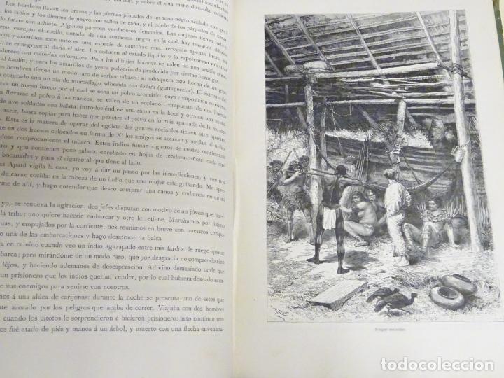 Enciclopedias antiguas: LIBRO TOMO ENCICLOPÉDICO SIGLO XIX AÑO 1884. AMERICA PINTORESCA. 860P. 3,5KG - Foto 6 - 254994160