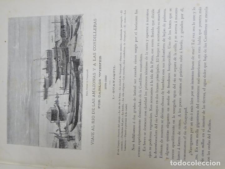 Enciclopedias antiguas: LIBRO TOMO ENCICLOPÉDICO SIGLO XIX AÑO 1884. AMERICA PINTORESCA. 860P. 3,5KG - Foto 8 - 254994160