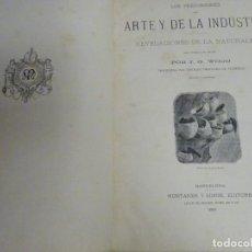 Enciclopedias antiguas: LIBRO TOMO ENCICLOPÉDICO SIGLO XIX AÑO 1886. PRECURSORES DEL ARTE Y DE LA INDUSTRIA. 554P. 1,8KG. Lote 254994755