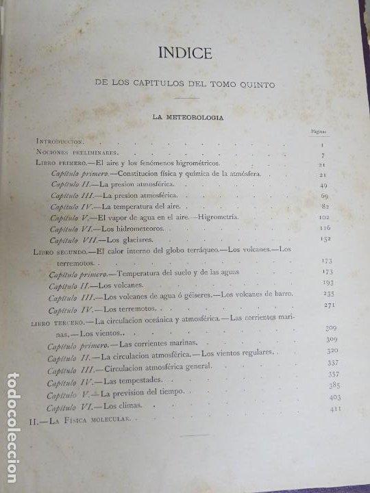 Enciclopedias antiguas: LIBRO TOMO ENCICLOPÉDICO SIGLO XIX AÑO 1886. LA VIDA NORMAL Y SALUD. MONTANER Y SIMÓN 366P. 1,4KG - Foto 7 - 254995400