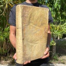 Livres anciens: 1775 - ENCYCLOPEDIE DE DIDEROT Y DALAMBERT - PERGAMINO - 42X27 CM - PRIMERA ENCICLOPEDIA. Lote 267095264