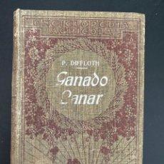 Enciclopedias antiguas: GANADO LANAR. P. DIFFLOTH. ENCICLOPEDIA AGRICOLA SALVAT. BARCELONA, 1921. PAGS: 444. Lote 270125848