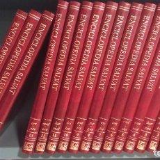 Enciclopedias antiguas: ENCIOCLOPEDIA SALVAT 16 NUMEROS LIBROS COMPLETA. Lote 282052828