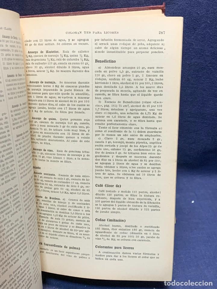 Enciclopedias antiguas: ENCICLOPEDIA RECETARIO INDUSTRIAL HISCOX HOPKINS GUSTAVO GILI 1934 23X16X7CMS - Foto 4 - 283768643