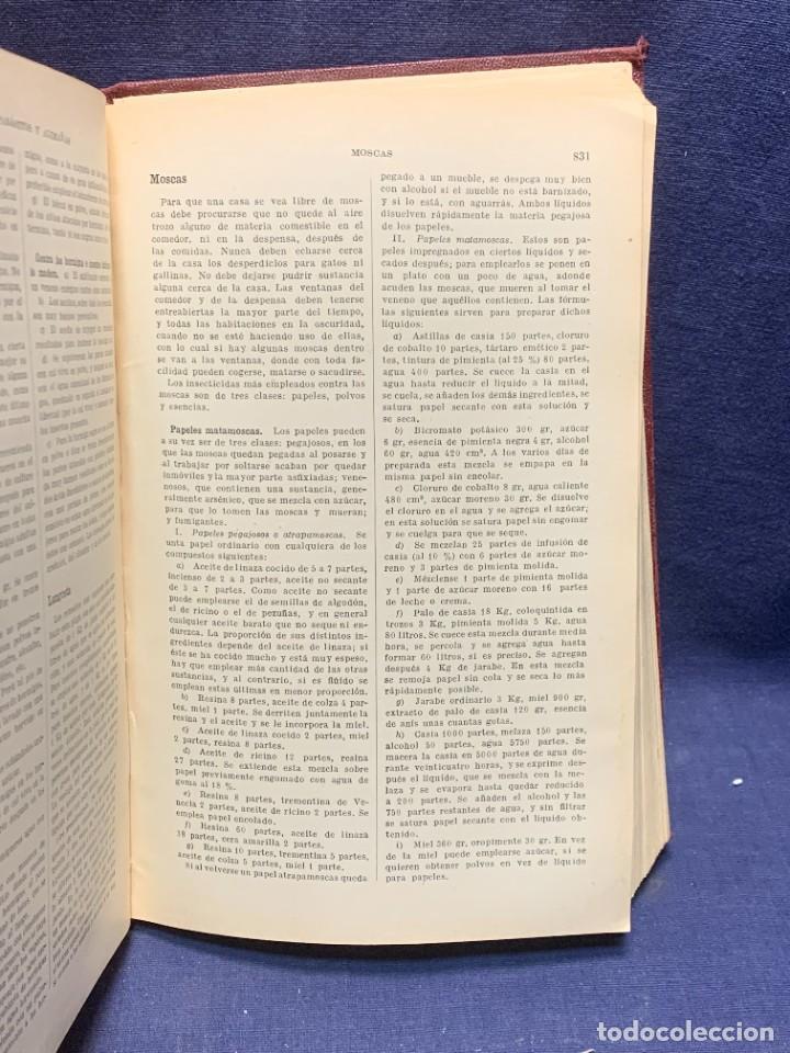 Enciclopedias antiguas: ENCICLOPEDIA RECETARIO INDUSTRIAL HISCOX HOPKINS GUSTAVO GILI 1934 23X16X7CMS - Foto 6 - 283768643