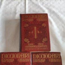 Enciclopedias antiguas: DICCIONARI DE LA LLENGUA CATALANA SALVAT. Lote 284720488