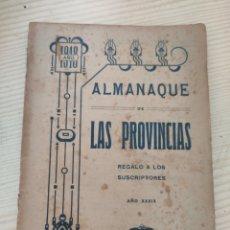 Enciclopedias antiguas: ALMANAQUE DE LAS PROVINCIAS.1918. Lote 286793748