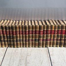 Enciclopedias antiguas: ENCICLOPEDIA VETERINARIA, CADEAC 25 TOMOS, 1903 , PIEL , URQ BS 4. Lote 287749643