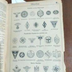 Enciclopedias antiguas: ENCICLOPEDIA ALEMANA DE 1943. EDITADA DURANTE LA SEGUNDA GUERRA MUNDIAL EN EL III REICH (EN ALEMÁN).. Lote 289215103
