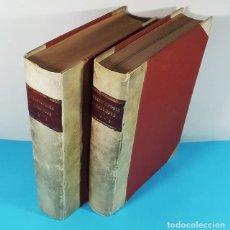 Enciclopedias antiguas: PEQUEÑA ENCICLOPEDIA COLUMBUS (LOS 2 TOMOS) HYMSA 1934 1622 PAG, REENCUADERNADA. Lote 289339823