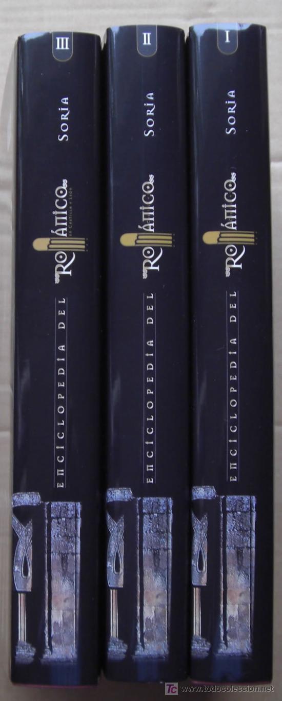 Enciclopedias: ENCICLOPEDIA DEL RÓMANICO DE CASTILLA Y LEÓN.PROVINCIA DE SORIA.TRES TOMOS. - Foto 2 - 125198048