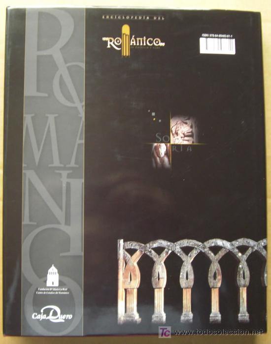 Enciclopedias: ENCICLOPEDIA DEL RÓMANICO DE CASTILLA Y LEÓN.PROVINCIA DE SORIA.TRES TOMOS. - Foto 7 - 125198048