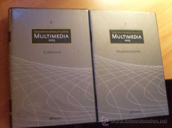 GRAN ENCICLOPEDIA PLANETA MULTIMEDIA CIENCIAS - HUMANIDADES . 10 CD ( LE3) (Libros Nuevos - Diccionarios y Enciclopedias - Enciclopedias)
