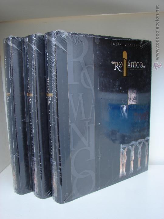 ENCICLOPEDIA DEL ROMANICO DE CASTILLA Y LEON. PROVINCIA DE SORIA. 3 TOMOS. SIN ESTRENAR (Libros Nuevos - Diccionarios y Enciclopedias - Enciclopedias)