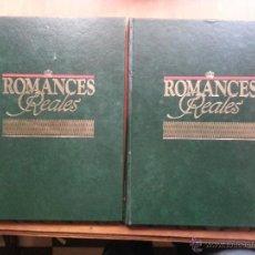 Enciclopedias: ROMANCES REALES. EDITADA POR PLANETA AGOSTINI. BODAS REY JUAN CARLOS SOFIA RAINERO DIANA TOMO 1 Y 2. Lote 48009572