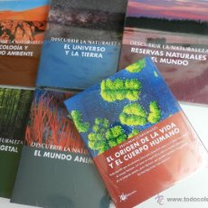Enciclopedias: DESCUBRIR LA NATURALEZA . EDITORIAL MEDITERRÁNEA. 6 TOMOS TAPA DURA. PRECINTADOS. Lote 50267109