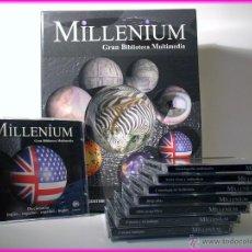 Enciclopedias: MILLENIUM GRAN BIBLIOTECA MULTIMEDIA. ENCICLOPEDIA PLANETA D´AGOSTINI #NUEVA, DESPRENCINTADA. Lote 52472358