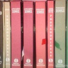 Enciclopedias: HEMEROTECA DE LOS ANUARIOS DE DIFUSORA INTERNACIONAL:. Lote 56049351