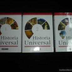 Enciclopedias: HISTORIA UNIVERSAL 3 TOMOS - LIBROS NUEVOS. Lote 56896655