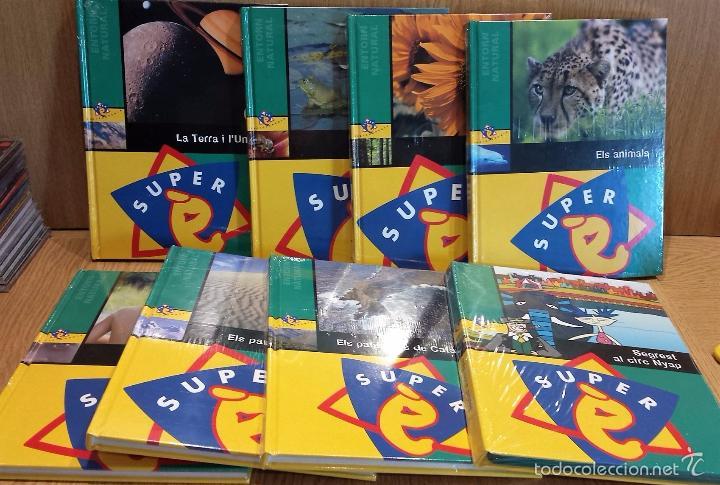 SUPER É. ENTORN VISUAL. TOMOS 1 A 7 + DVD / PRECINTADOS. - OCASIÓN. (Libros Nuevos - Diccionarios y Enciclopedias - Enciclopedias)