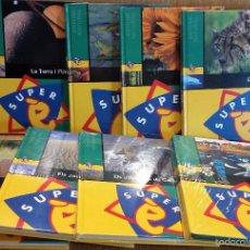 Enciclopedias: SUPER É. ENTORN VISUAL. TOMOS 1 A 7 + DVD / PRECINTADOS. - OCASIÓN.. Lote 57508929