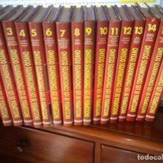 Enciclopedias: ENCICLOPEDIA DE LOS CONOCIMIENTOS- EDITORIAL OCEANO ENCUADERNACION DE CALIDAD 16 VOLUMENES . Lote 63681099