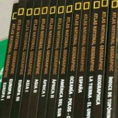 Enciclopedias: COLECCIONES DE ATLAS NATIONAL GEOGRAFIC. Lote 79509078