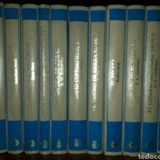 Enciclopedias: BIBLIOTECAMUNDIALDEGRANDESAVENTURAS. EDITORIAL PLANETA, AÑO 1987. EN PERFECTO ESTADO, 11 TOMOS.. Lote 80078939