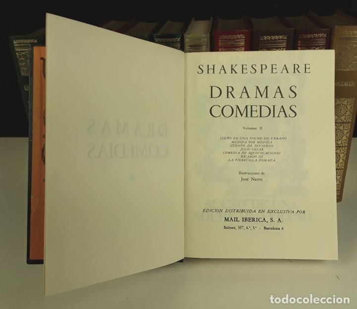 Enciclopedias: BIBLIOTECA DE LOS GRANDES CLÁSICOS. 11 TOMOS(VER DESCRIP). VV. AA. EDIC. MAIL IBERICA. 1968. - Foto 4 - 80192129